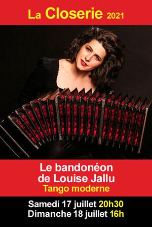 Concert : Le bandonéon de Louise Jallu (tango moderne)