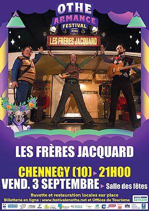 Othe-Armance Festival (festival itinérant) : Concert avec Les Frères Jacquard (musique et humour / chansons parodiques)
