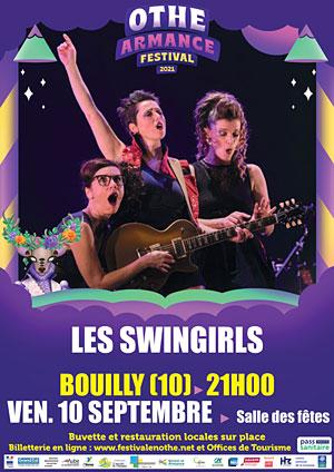 Othe-Armance Festival (festival itinérant) : Concert avec Les Swingirls (humour et chansons swing)