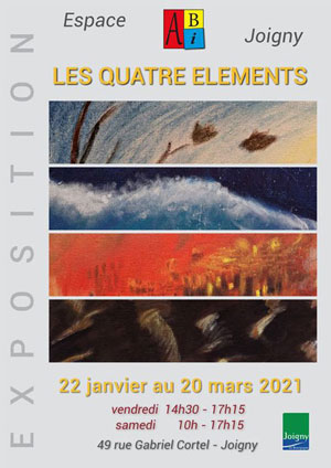 Exposition : Les quatre éléments par les Artistes Bourguignons Indépendants