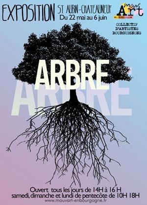 Exposition ARBRE : par les artistes de Mouv'art en Bourgogne autour le thème de l'arbre Jusqu'au 6 juin