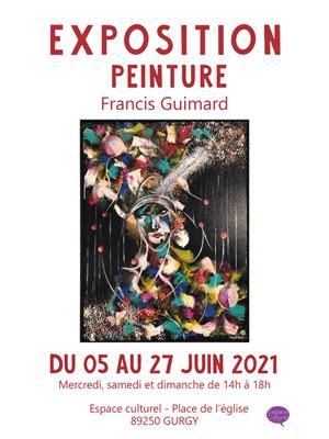 Exposition de peinture par Francis Guimard