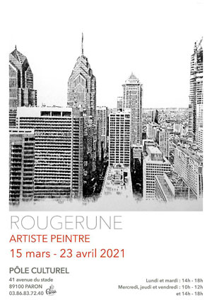 Exposition : Rougerune (artiste peintre)