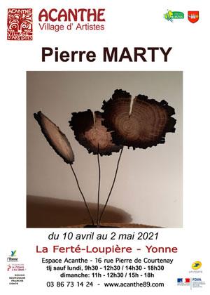 Exposition de Pierre Marty (sculpteur)