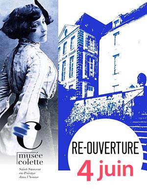 Réouverture du musée Colette au public pour cette nouvelle saison
