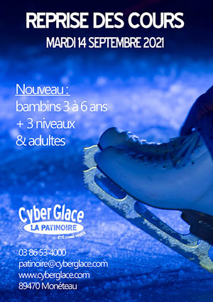 Reprise des cours de patinages pour enfants et adultes