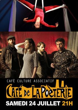 Concert et spectacle avec Cie Sans Nom et Circum Solo (cirque) et Oslo Tropique (rock)