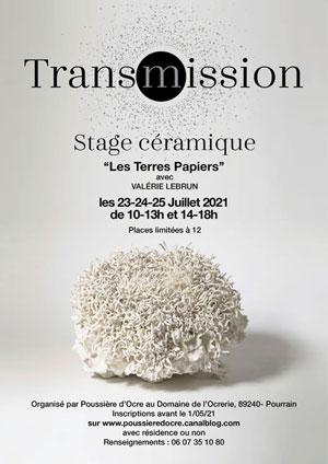 Stage Céramique