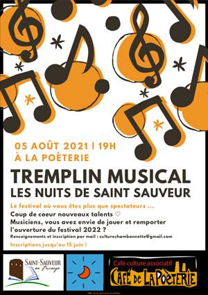 Tremplin musical des Nuits de Saint-Sauveur