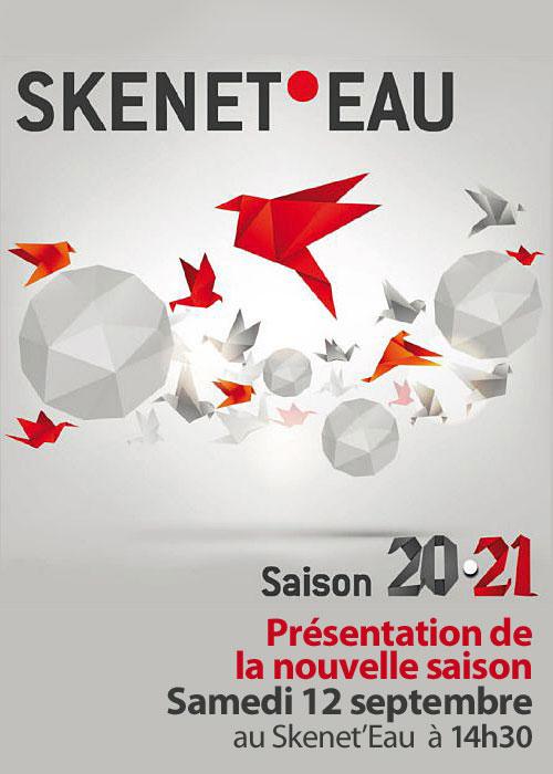 Présentation de la saison 2020-2021 du SKENET'EAU