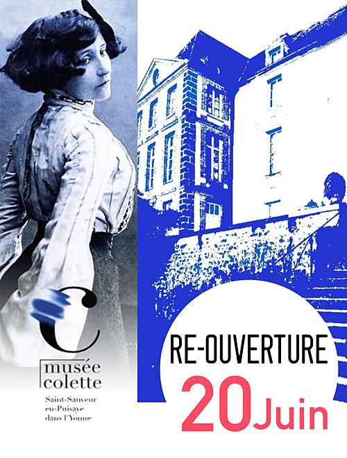 RE-OUVERTURE DU MUSEE COLETTE : Visite guidée sans surcoût, salon de thé dans le Jardin de la Vinée exceptionnellement ouvert au public