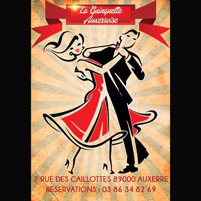 LA GUINGUETTE AUXERROISE - Dancing / thé-dansants / accordéon, variété, musette