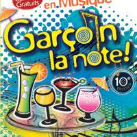 Garçon la Note - Sens - Apéro-concerts en terrasse de bars, cafés et restaurants / Tout style de musique