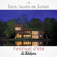Les Jolis Jeudis de Juillet - Festival d'été en plein-air / poésie, lectures, concert baroque, théâtre musical, performance théâtrale, conférence spectacle et soirée dansante